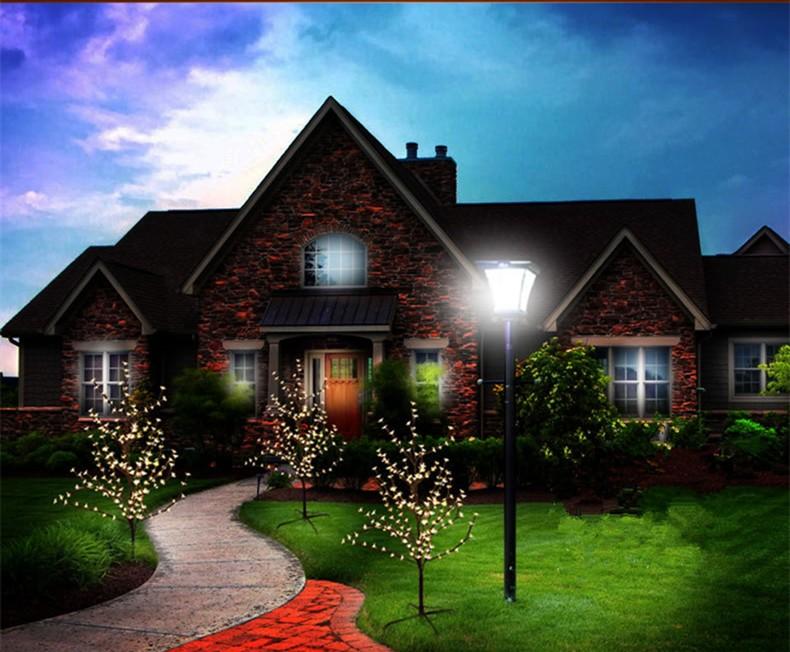 Solar String Lights LED Flowers Decorations1