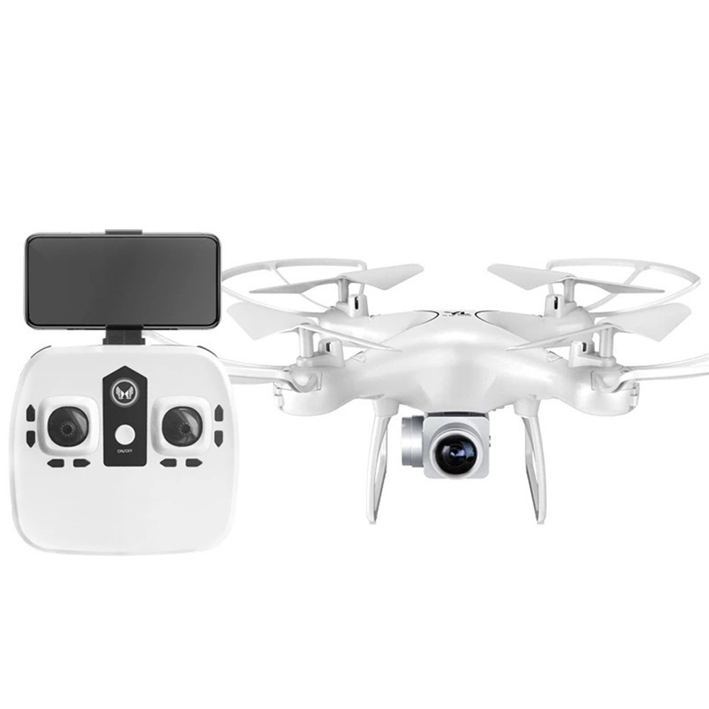 S28 RC Drone avec Caméra 1080 p HD 2.4g Selfie Quadcopter Aéronefs Wifi FPV Maintien D'altitude Sans Tête 3D Flip 18 min Long Vol - 2