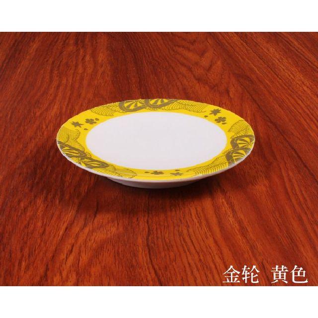 5pcs Creative Plastic Dinner Plates Melamine Tableware Nice Plastic