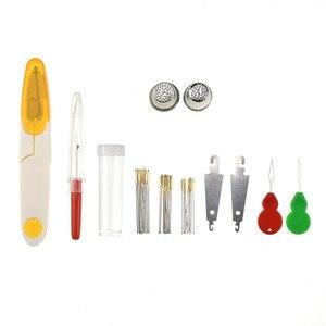 Image 3 - Looen 96Pcsเย็บปักถักร้อยไหมขัดฟันCross Stitch Threadชุดเย็บผ้าBobbinsจักรเย็บผ้ากล่องเก็บเย็บปักถักร้อยStarter Kit