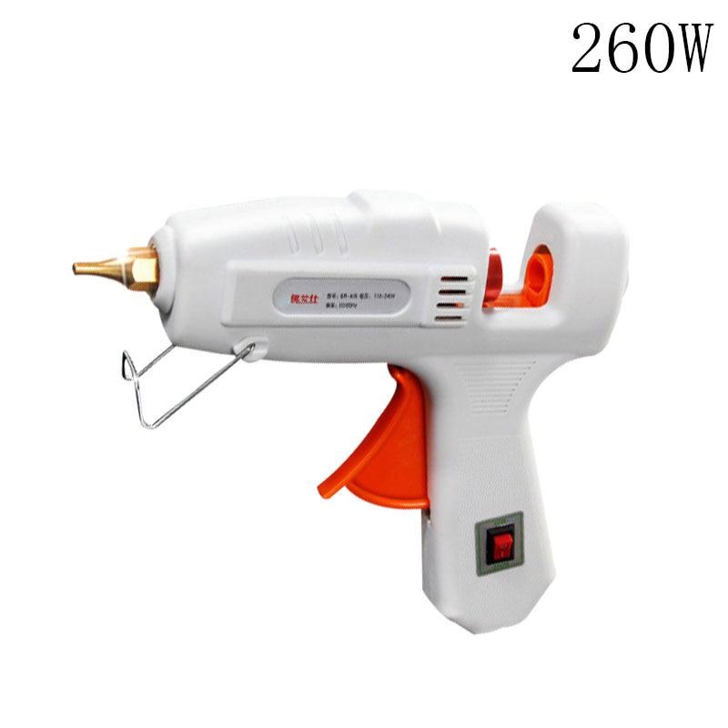 Professional High Temp Heater 260W Hot Glue Gun Repair Heat tool  cordless hot melt glue gun 6v charge battery high temp heater graft repair heat gun pistola de cola tenwa tools s 608