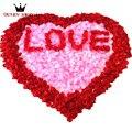 2000 unids/lote Decorativo Flor de Seda Artificial Pétalos de Rosa Decoración de La Boda 40 Colores Para Eligen RP1