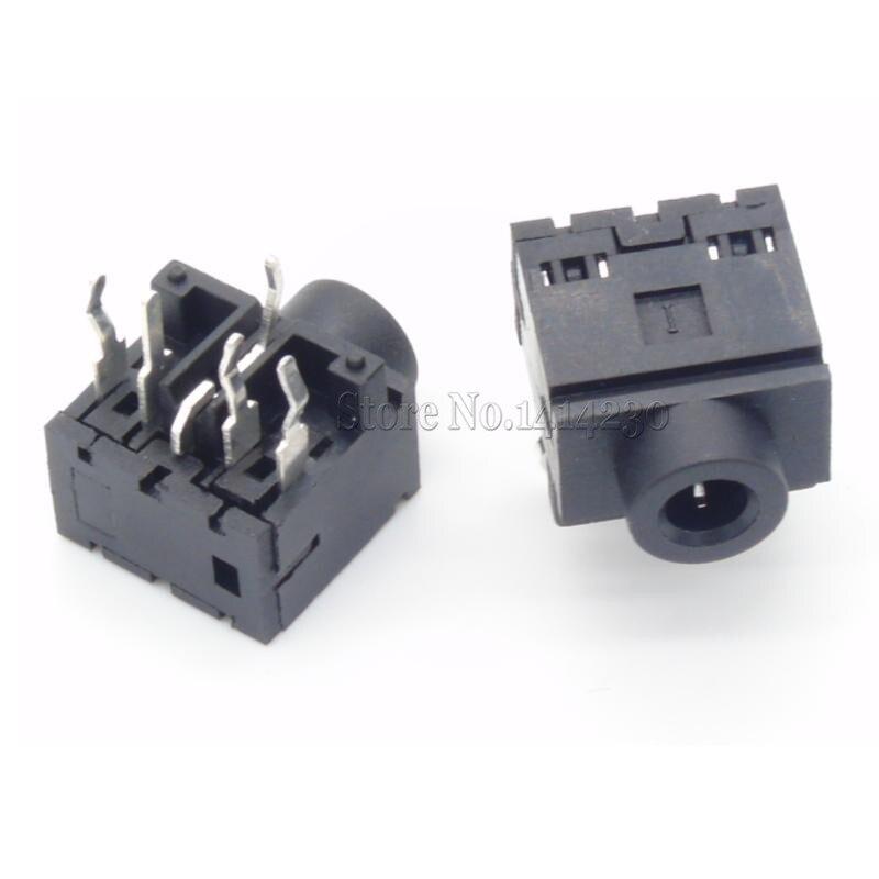 10Pcs 3.5mm 5Pins Stereo Jack Socket Audio Jack Connector PCB PJ-317