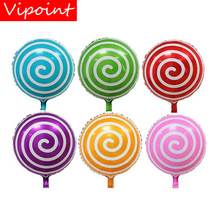 цена VIPOINT PARTY 18inch Foil Balloons-10 Pieces  Wedding Event Christmas Halloween Festival Birthday Party HY-315
