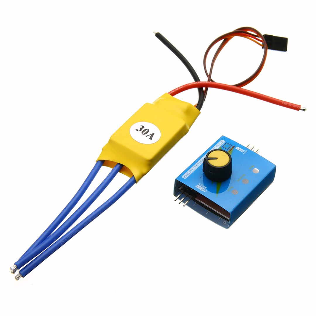 High power brushless motor speed controller 30a 12v dc 3 3 phase motor speed control