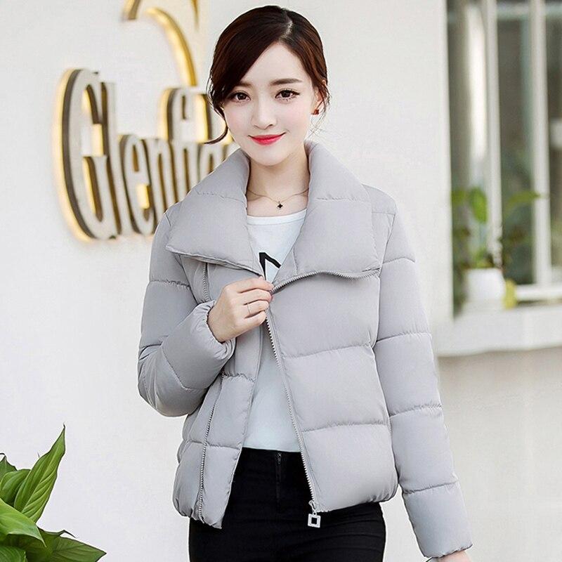 Coton Court gray Épais De Veste Étudiants Yagenz Black oranger Vêtements Grand Femmes Paragraphe green 2017 Hiver pink awI4qCCx