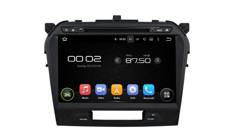 Auto Radio Car Head Unit Player For Suzuki Vitara 2015 2016 With Android 5.1.1 Quad Core 2G DDR Touch Screen Bluetooth USB SD FM
