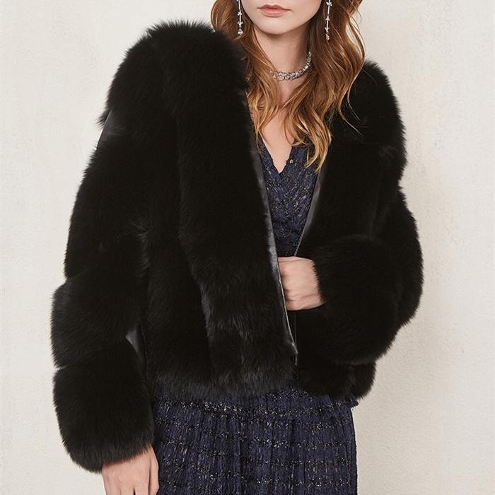OFTBUY 2019 Winter Jacket Women Parka Real Fox Fur Coat Natural Sheepskin Genuine Leather Bomber Jacket Korean Streetwear Luxury