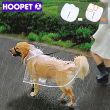 HOOPET Dog Raincoat big Medium-sized Dogs Pet Waterproof Clothing Jacket Clothes Puppy Casual