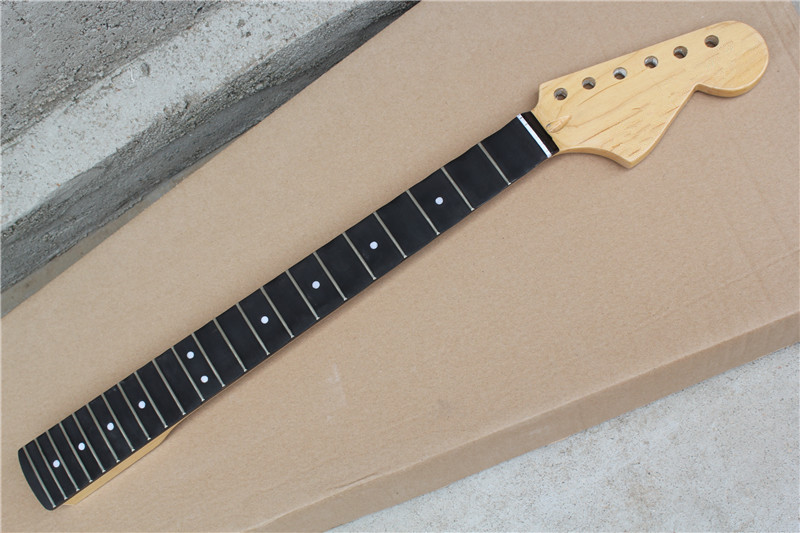 factory custom 22 frets rosewood fretsboard electric guitar neck with big headstock scalloped. Black Bedroom Furniture Sets. Home Design Ideas