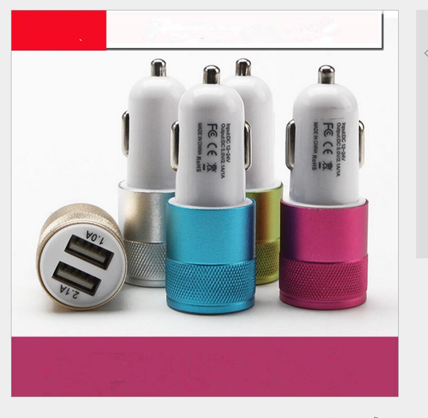 Car Charger For mobile phones tablets for Chevrolet Cruze 2013 Spark Onix Silverado Volt Camaro Aveo Car Accessories