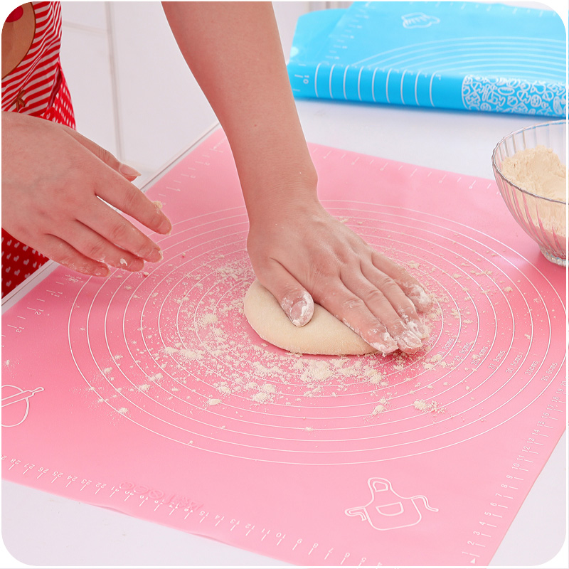 Large Size Silicone Baking Tools Soft Rolling Pastry Boards Kneading Dough Mat With Calibration High Temperature Resistant-in Rolling Pins & Pastry Boards from Home & Garden on Aliexpress.com | Alibaba Group