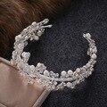 Princess Crown Rhinestone Tiara Noiva Bridal Tiaras And Crowns Wedding Bride Headpiece Crystal Hair Jewelry Diadema
