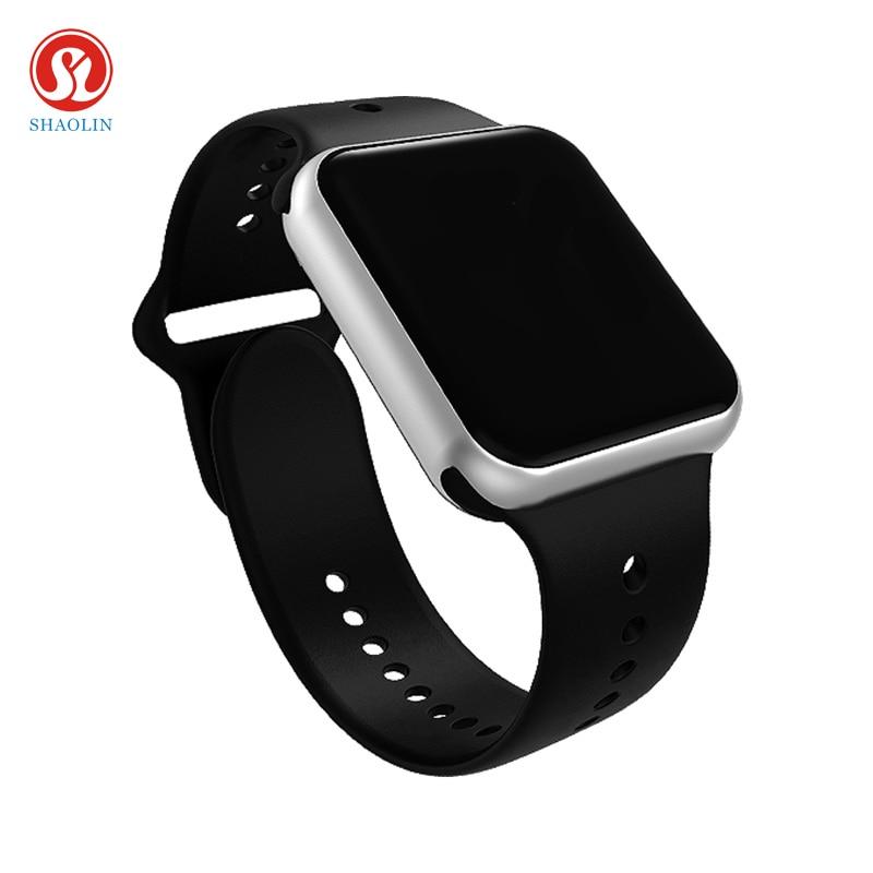 Bluetooth Smart Watch 1:1 SmartWatch case for apple iPhone Android Smart phone Reloj Inteligente pk apple watch