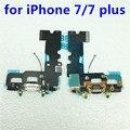 Novo para iphone 7 plus usb cobrando conector de porta cabo flexível para iphone 7 plugue do carregador de carregamento usb flex peças de reparo do cabo flex