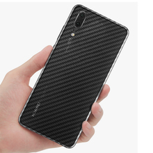 3D Carbon Fiber Back Cover Protective Film For Huawei P20 Pro Honor 10 9 8 7X fu