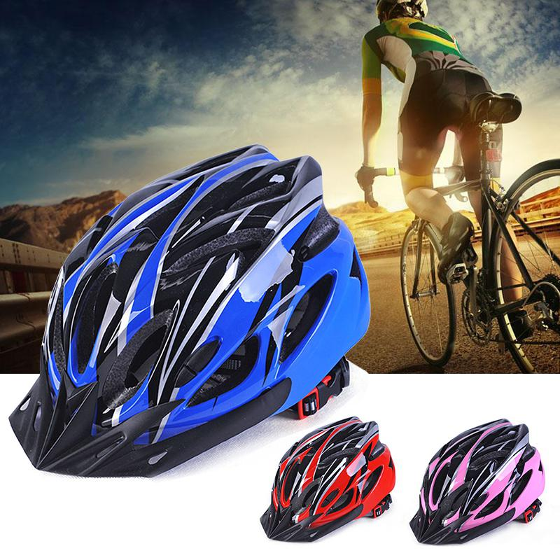 HobbyLane Men and Women Cycling Helmet Integrally-molded for Mountain Road and Sports(China)