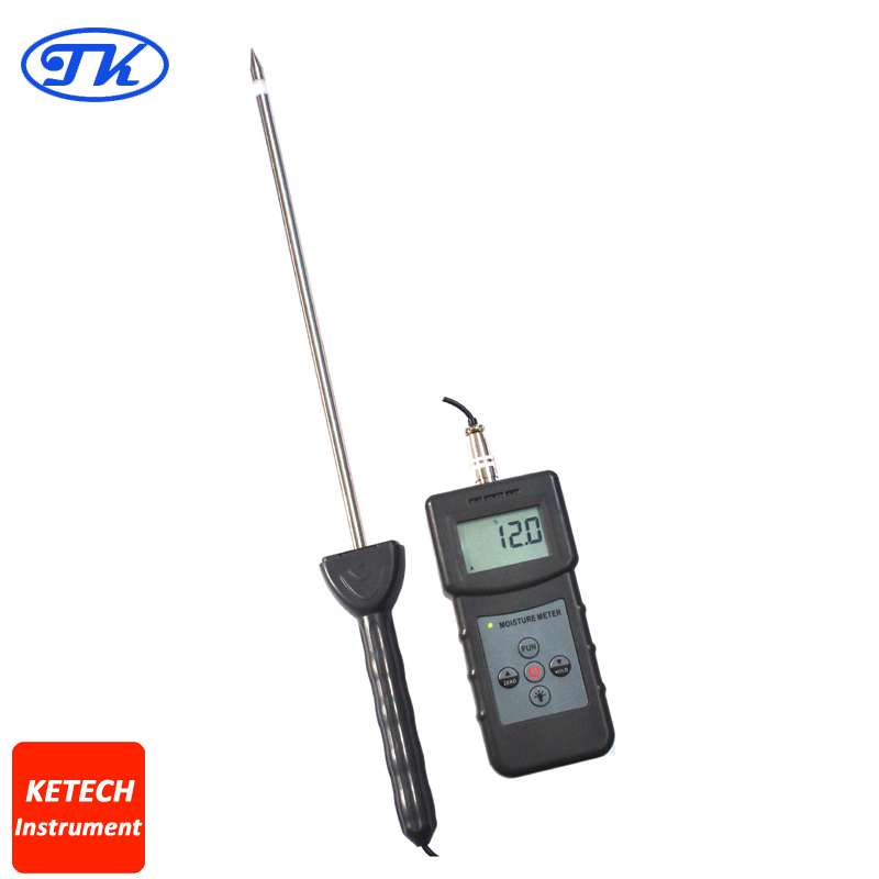Digital Soil Moisture Meter Tester PMS710 fiber materials wooden articles tobacco cotton paper building soil and other fibre materials digital wood moisture meter mc7806