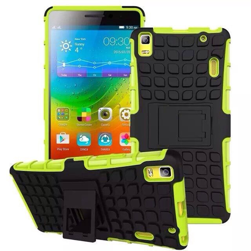 Lenovo K3 Note Case High Quality TPU+PC Protector Cover With Stander For Lenovo K3 Note K50-T5 A7000 Smart Phone+Free Shipping