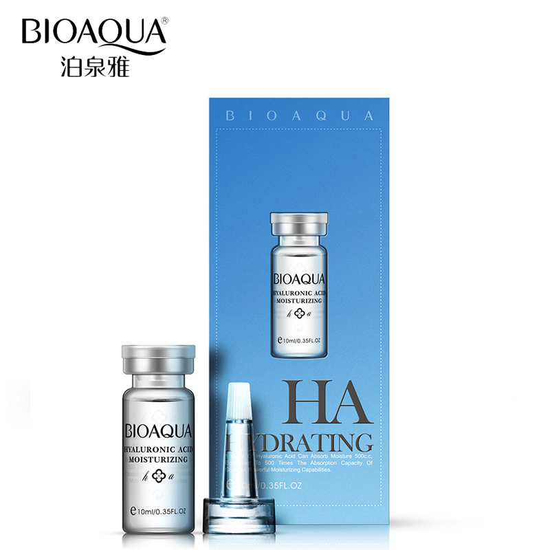 BIOAQUA Brand Face Skin Care Hyaluronic Acid Serum Liquid Anti Aging Collagen Essence Moisturizing Oil Whitening Day Cream