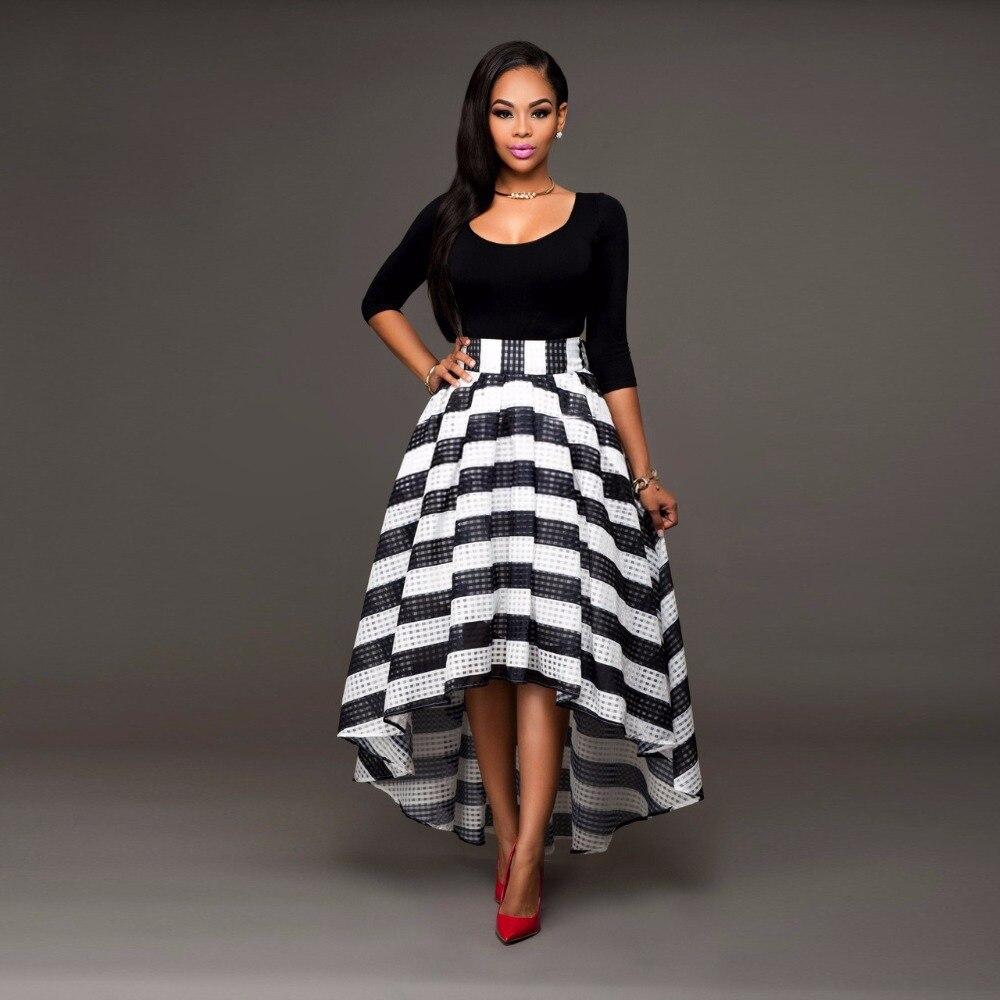 Women Long Summer Dress 2016 Elastic Waist Sexy Maxi Dresses Long Cotton  Casual 3 4 Sleeve Women Plus Size Black Dresses 30dfa3330295