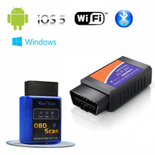 Original Vgate WiFi bluetooth OBDII ELM327 Diagnostic-Tool WiFi bluetooth vgate OBD2 Diagnostic scanner for IOS Android