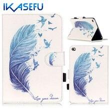 IKASEFU Fundas Coque Para ipad mini 4 Filp Soporte de Silicona para el mini 4 Apple iPad mini4 I Pad PU Cuero Caso tpu Capa cubierta