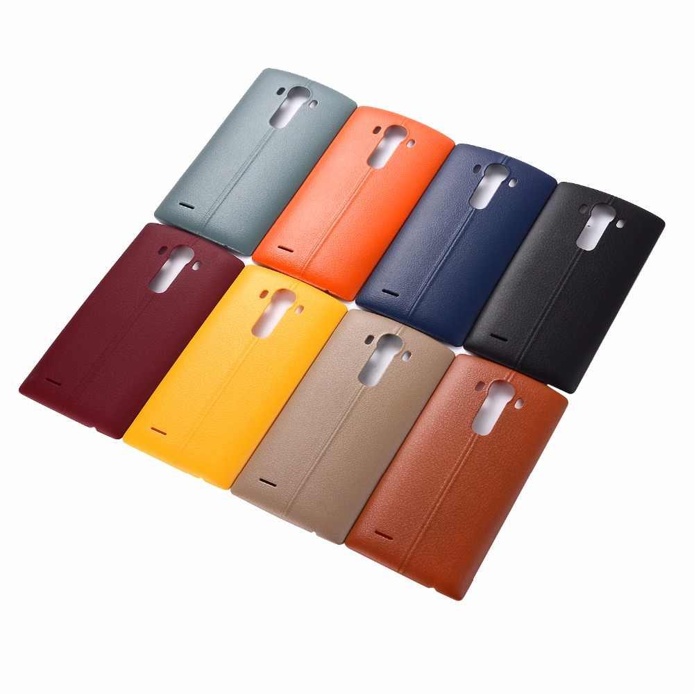 Pil arka kapak konut case kapı arka kapak + NFC LG G4 H815 H810 H811 LS991 US991 VS986 konut LG kılıfı g4