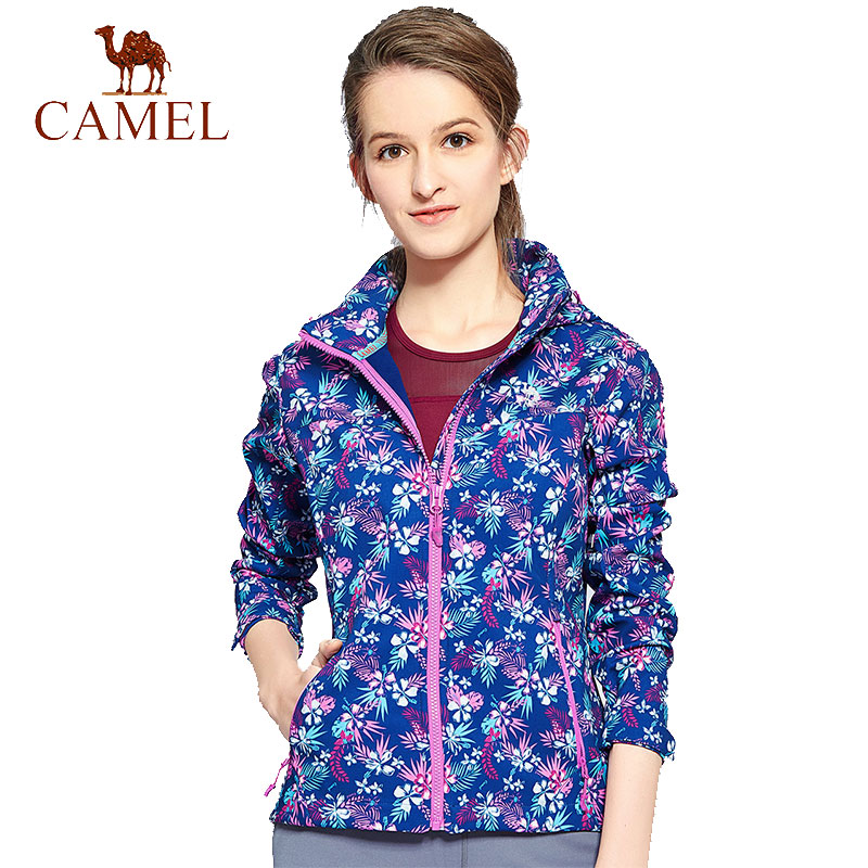 CAMEL New Softshell Jacket Women Brand Windproof Outdoor Hiking Clothing Female Warmth Soft Shell Fleece Jackets softshell snowboard jacket women brand waterproof rain coat outdoor hiking clothing female windproof soft shell fleece jackets