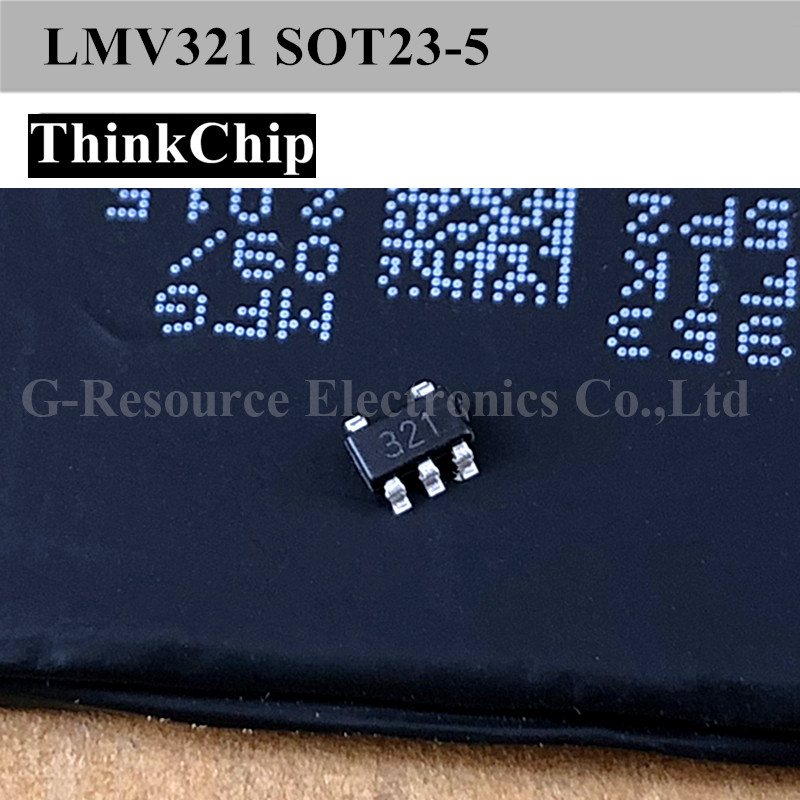 (20pcs) LMV321 SOT23-5 GENERAL-PURPOSE OP-AMP (Marking 321) NEW Original