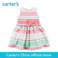 Carter S 1pcs Baby Children Kids Sateen Striped Dress 251G346 Sold By Carter S China Official