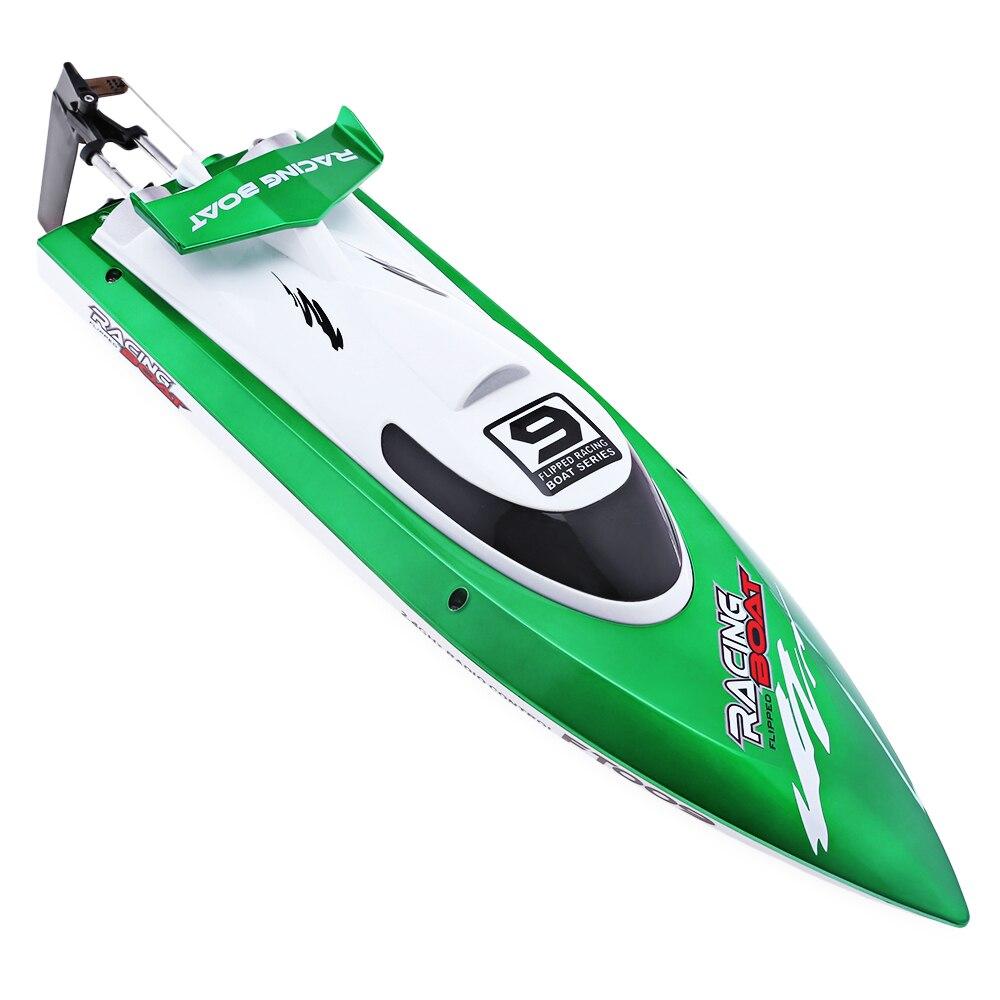FeiLun FT009 воды гоночная лодка Высокая Скорость Yacht анти-аварии удаленного Управление Скорость лодка остойчивый начинающих уровень Rc елочные и...