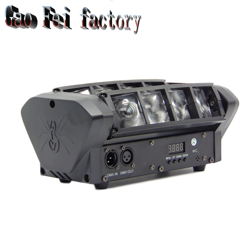 Moving Head Light Mini LED Spider 8x6W RGBW Beam Light Good Quality Sale From Factory