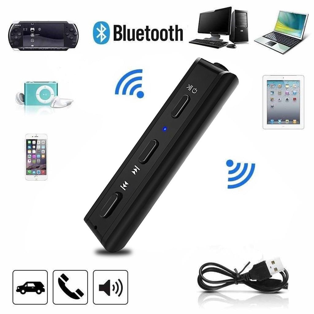 Frank Mini 3,5 Mm Jack Aux Audio Mp3 Musik Bluetooth Empfänger Auto Kit Drahtloser Freihändiger Lautsprecher Kopfhörer Adapter Für Iphone AusgewäHltes Material Tragbares Audio & Video