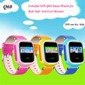 Q60 seguro garoto relógio de pulso gps localizando dispositivo localizador sos rastreador monitor anti perdido lembrete crianças android smart watch phone