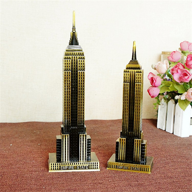 famous american architecture.  Famous The Empire State Building Craft Statue Model Ornament Famous American  Architectural Present Travel Souvenirs For Friends Home In Figurines U0026 Miniatures  For Architecture T