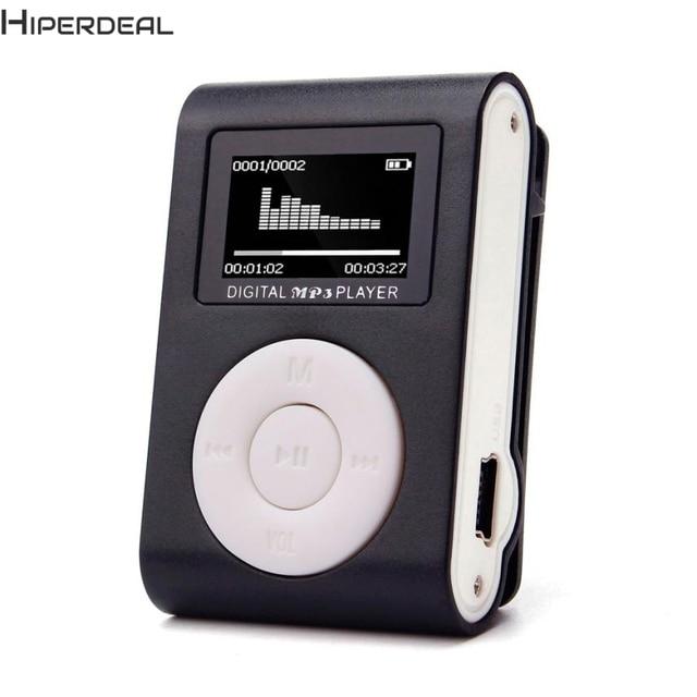Hiperdeal Music Player Mini USB Clip MP3 Player LCD Hỗ Trợ Màn Hình 32 GB 5 Colors Micro SD TF Thẻ Máy Nghe Nhạc Mp3 17Dec13 Thả tàu