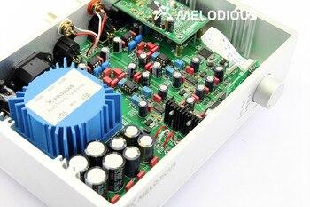 XMOS+AK4118+WM8741 Full balance DAC HiFi Audio Decoder Digital Analog Converter