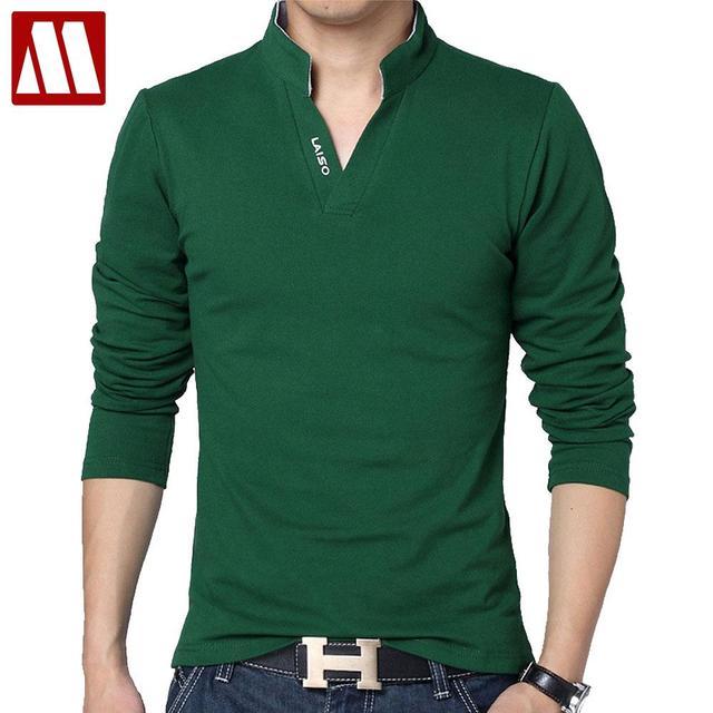 High Quality Brand Mens Polo Shirt Slim Fit Solid Polo Shirts Short Sleeve  Stand Collar Shirt 8f3247f2bc38