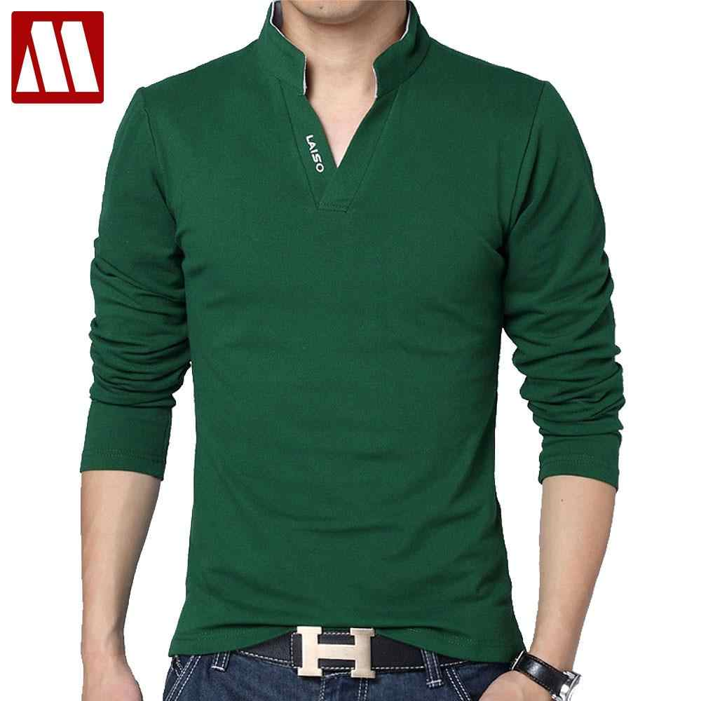 50b3a6c45 High Quality Brand Mens Polo Shirt Slim Fit Solid Polo Shirts Short Sleeve  Stand Collar Shirt