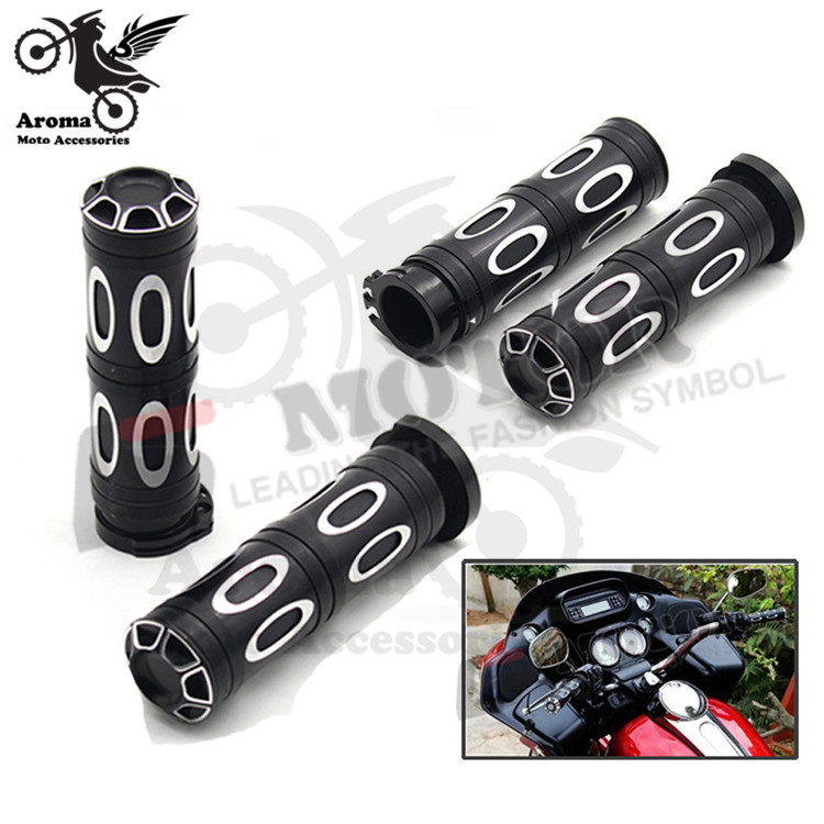 professional Modified accessories brand moto grip for harley handlebar for Harley Davidson XL883 1200 X48 72 motorcycle grips