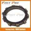 6 Pcs Clutch Plate Disc Set Friction For HONDA CR125R MTX250F NX250 TRX250X XR250 XR250L TRX300