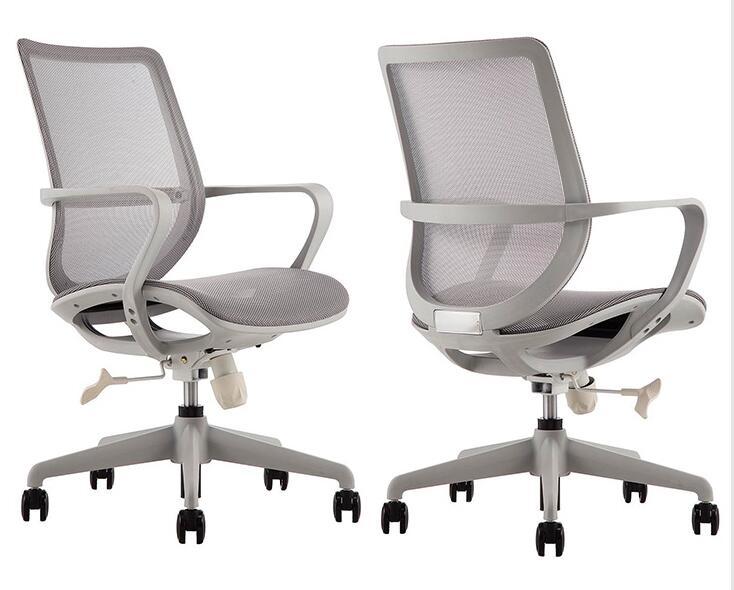 Simple chaise de bureau design entreprise Créative chaise de conférence chaise pivotante maison pleine mesh respirant chaise d'ordinateur.