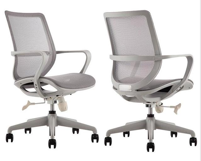 Simple design office chair Creative company conference chair swivel chair home full mesh breathable computer chair.