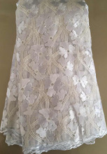 French Nigerian High Quality Tulle African Lace Fabric