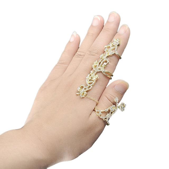 Bague doigt gothique