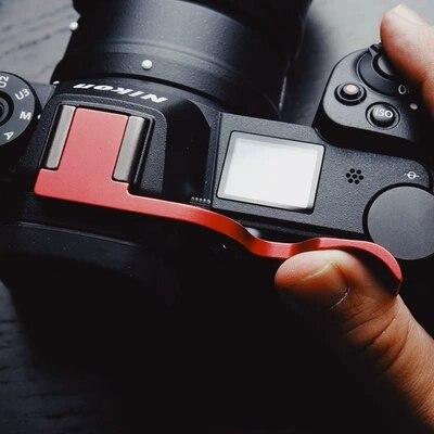 Nouveau Métal de haute qualité Caméra Thumb Up Griffe Pouce Poignée pour Nikon Z7 Z6