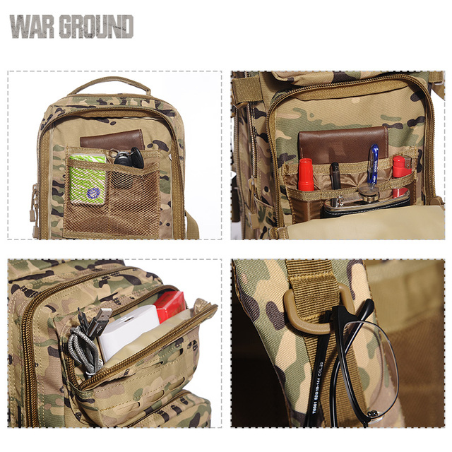 30L military backpack for hiking 8