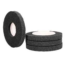 Non-woven Unitized Polishing Wheel for Soft Metal Stainless Steel  1 piece 100*12*16mm Nylon Grinding Disc
