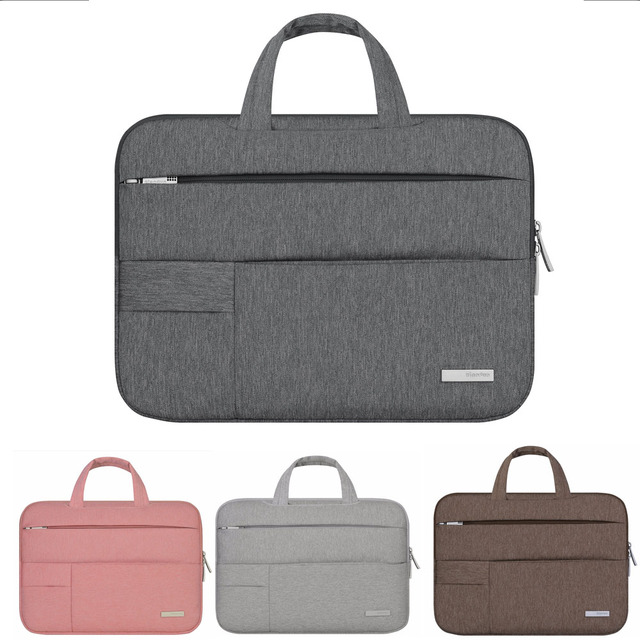 2017 fashion Men Felt Laptop Sleeve 11 13 notebook bag For apple mac Macbook Pro retina Air 11.6 13.3 case